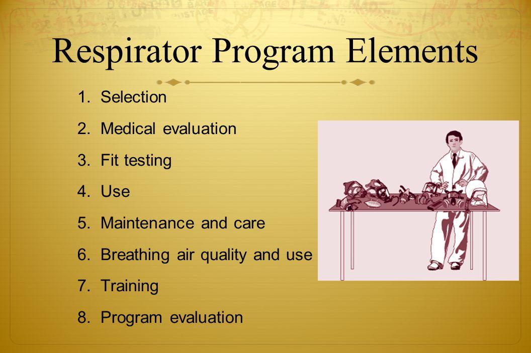 OSHA's Respiratory Protection Standard 29 CFR