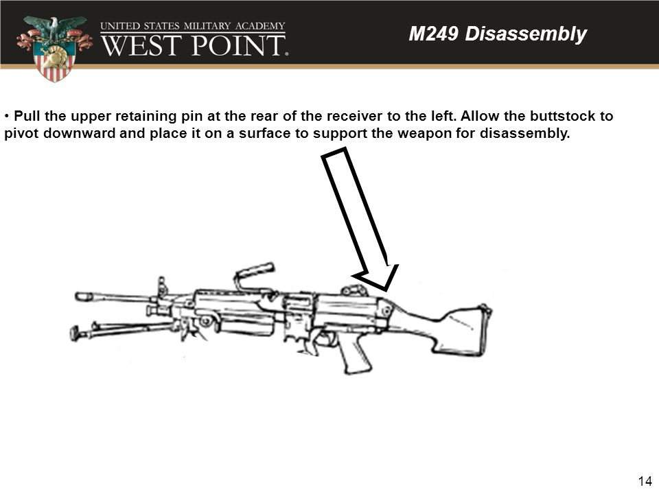 M249 Disassembly