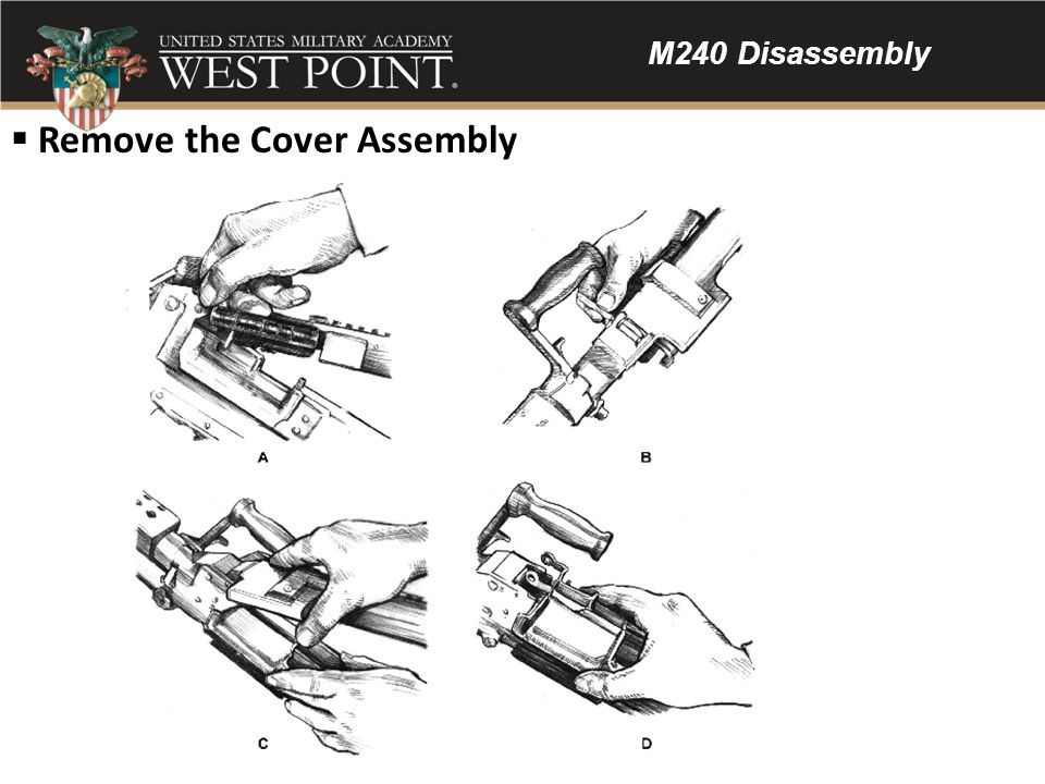 Remove the Cover Assembly