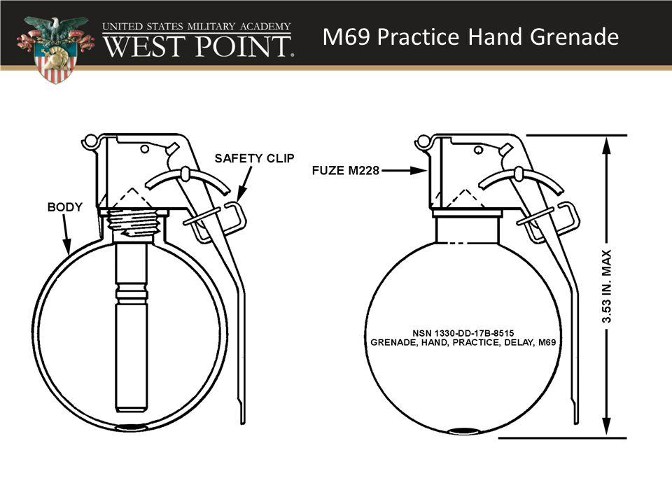 M69 Practice Hand Grenade