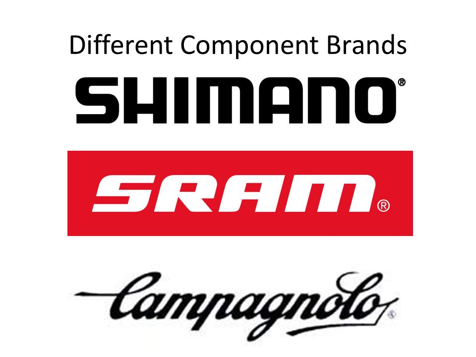 Different Component Brands