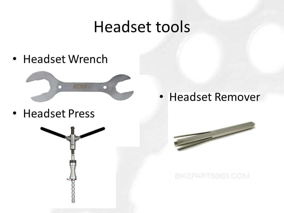 Headset tools Headset Wrench Headset Press Headset Remover