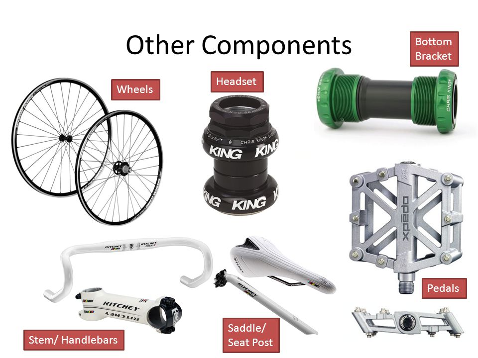 Other Components Bottom Bracket Headset Wheels Pedals