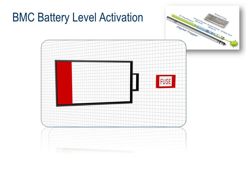 BMC Battery Level Activation