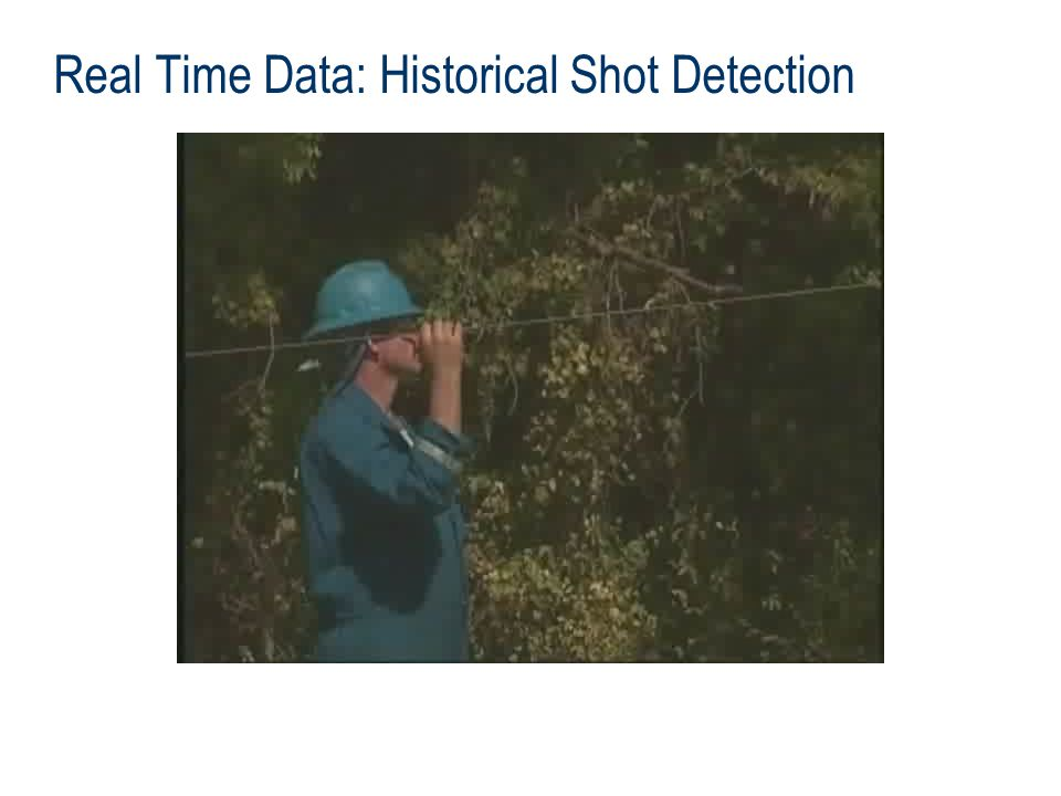 Real Time Data: Historical Shot Detection