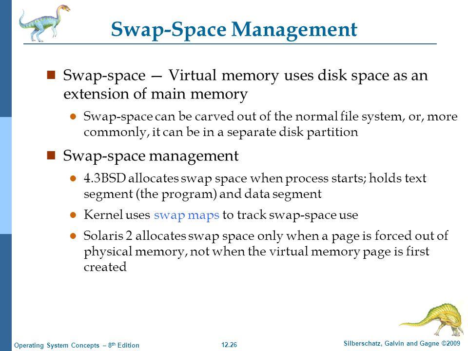 Swap-Space Management