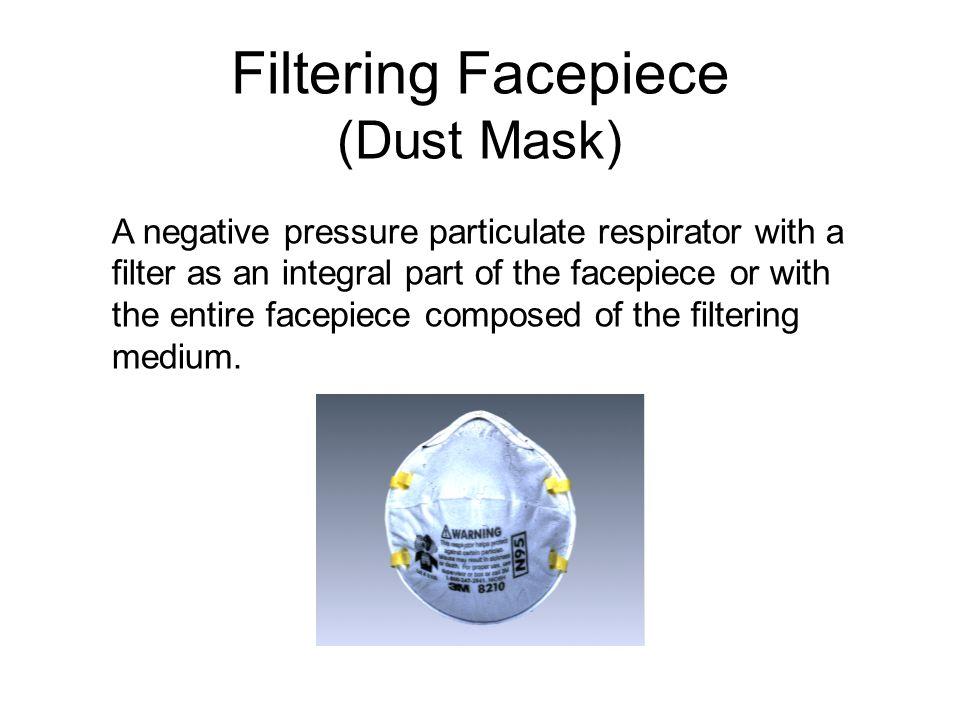 Filtering Facepiece (Dust Mask)