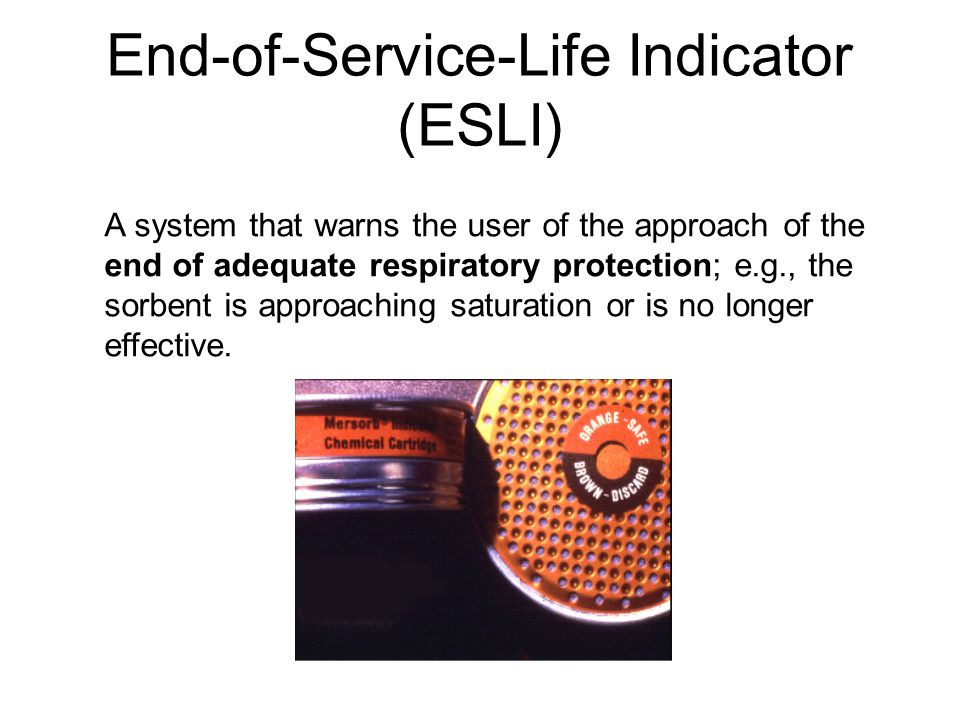 End-of-Service-Life Indicator (ESLI)