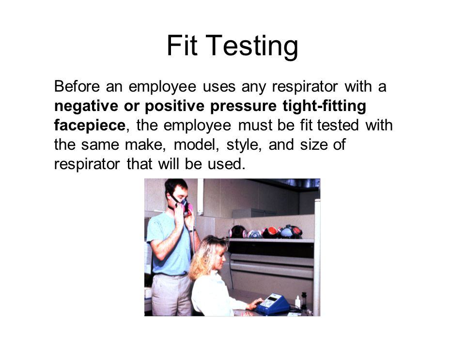 Fit Testing