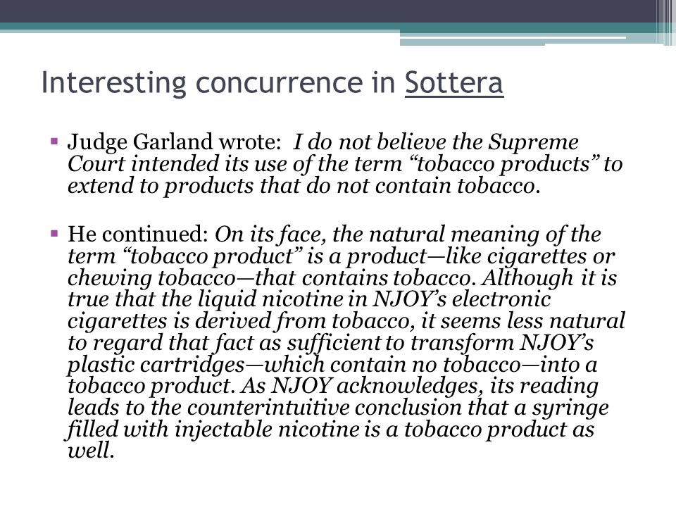 Interesting concurrence in Sottera