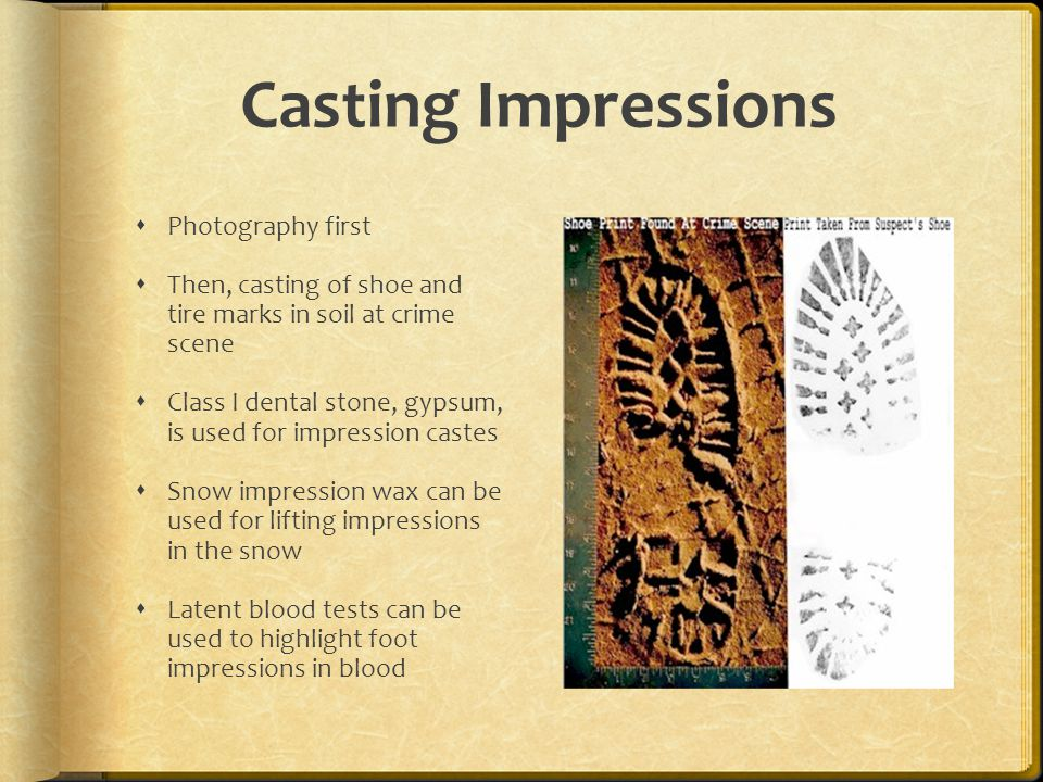 Casting Impressions Photography first