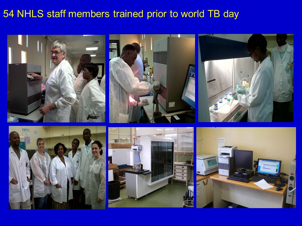 54 NHLS staff members trained prior to world TB day