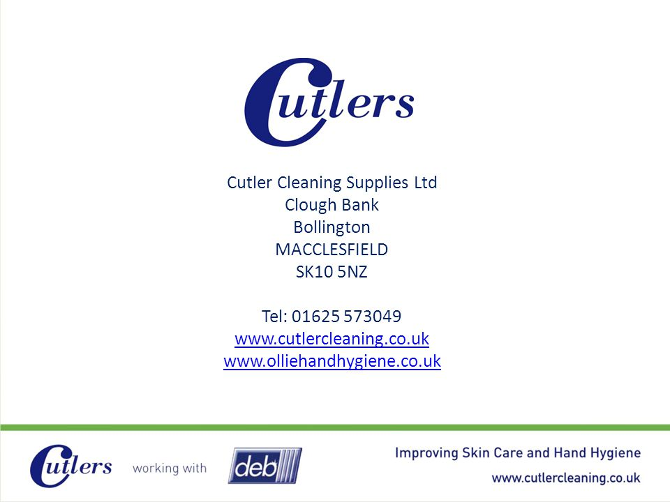 Cutler Cleaning Supplies Ltd