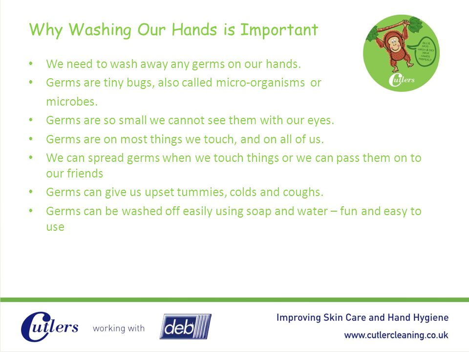 Why Washing Our Hands is Important