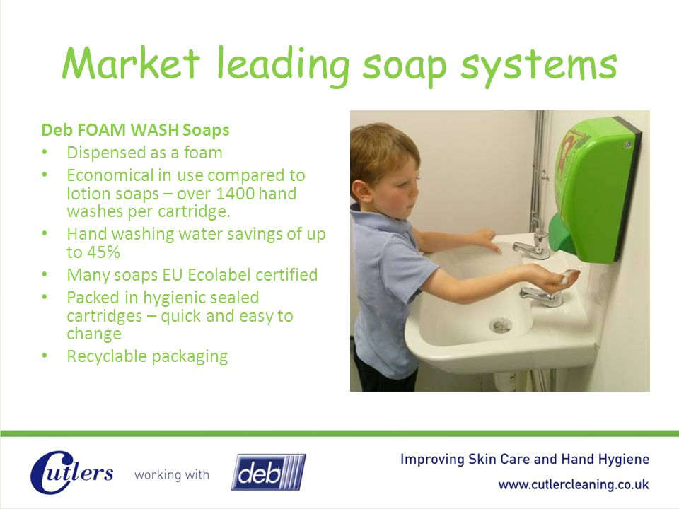 Market leading soap systems