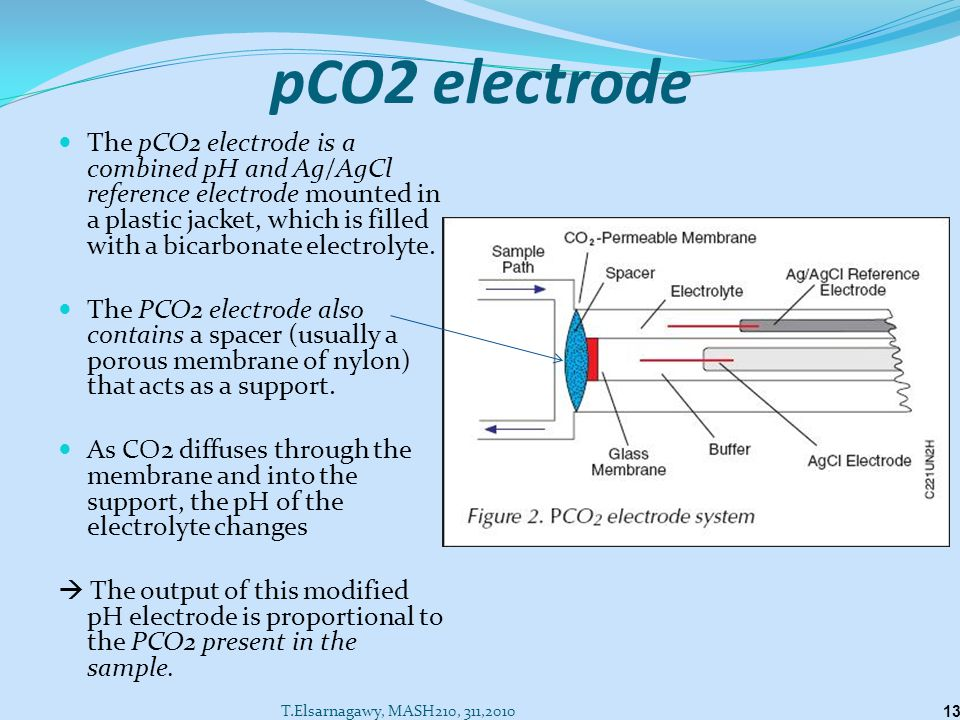 pCO2 electrode
