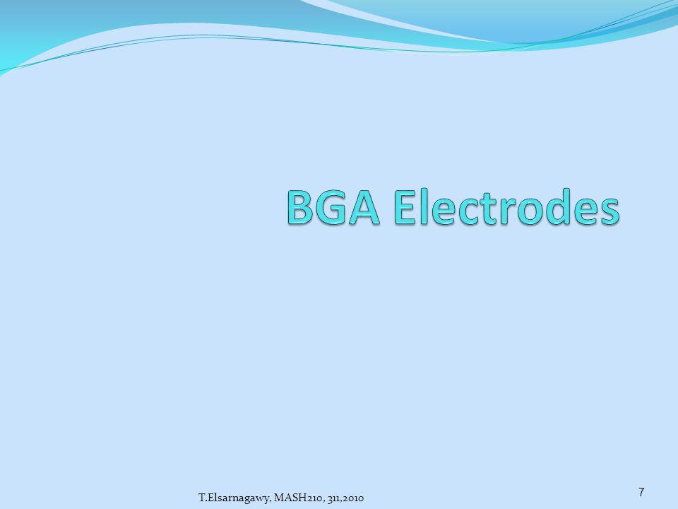 BGA Electrodes T.Elsarnagawy, MASH210, 311,2010