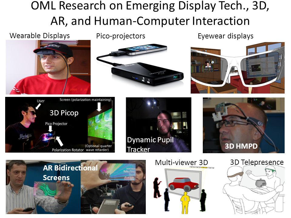 OML Research on Emerging Display Tech