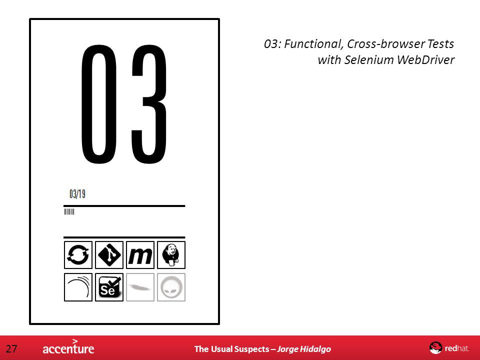 03: Functional, Cross-browser Tests with Selenium WebDriver