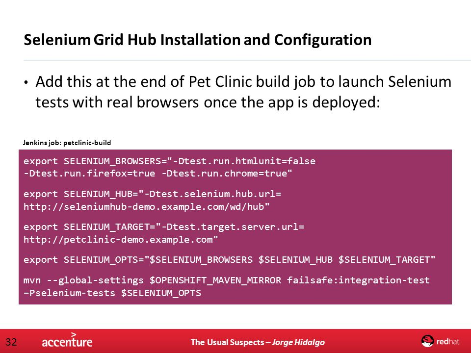 Selenium Grid Hub Installation and Configuration