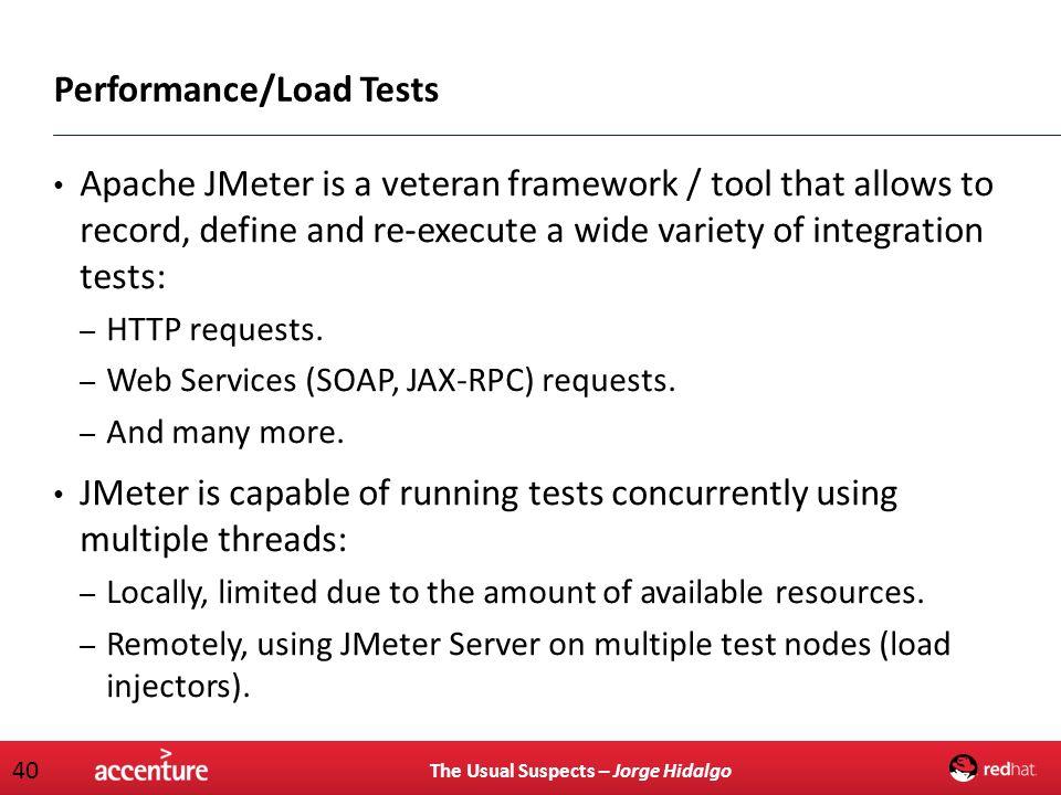 Performance/Load Tests