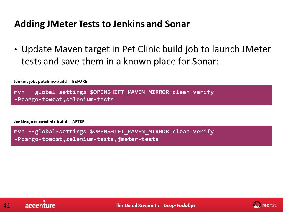 Adding JMeter Tests to Jenkins and Sonar