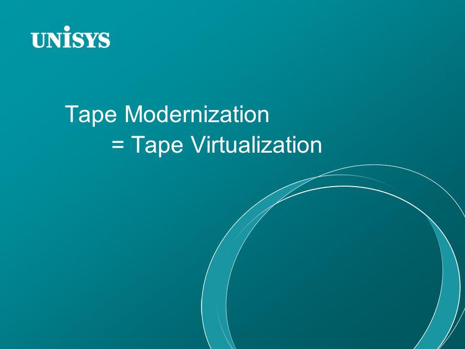 Tape Modernization = Tape Virtualization