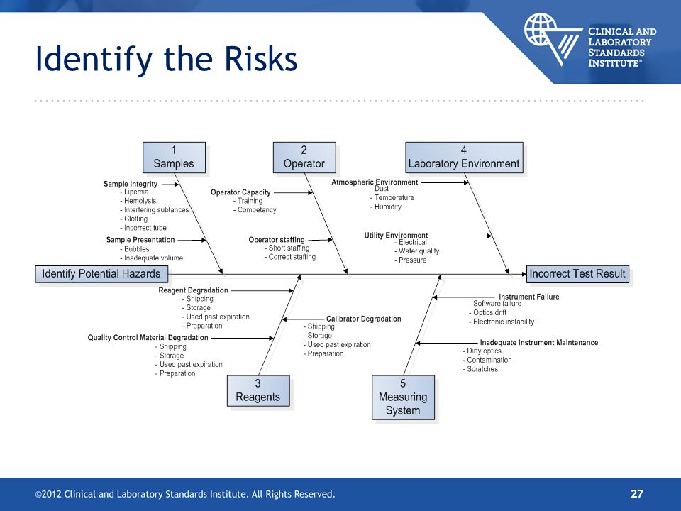 Identify the Risks