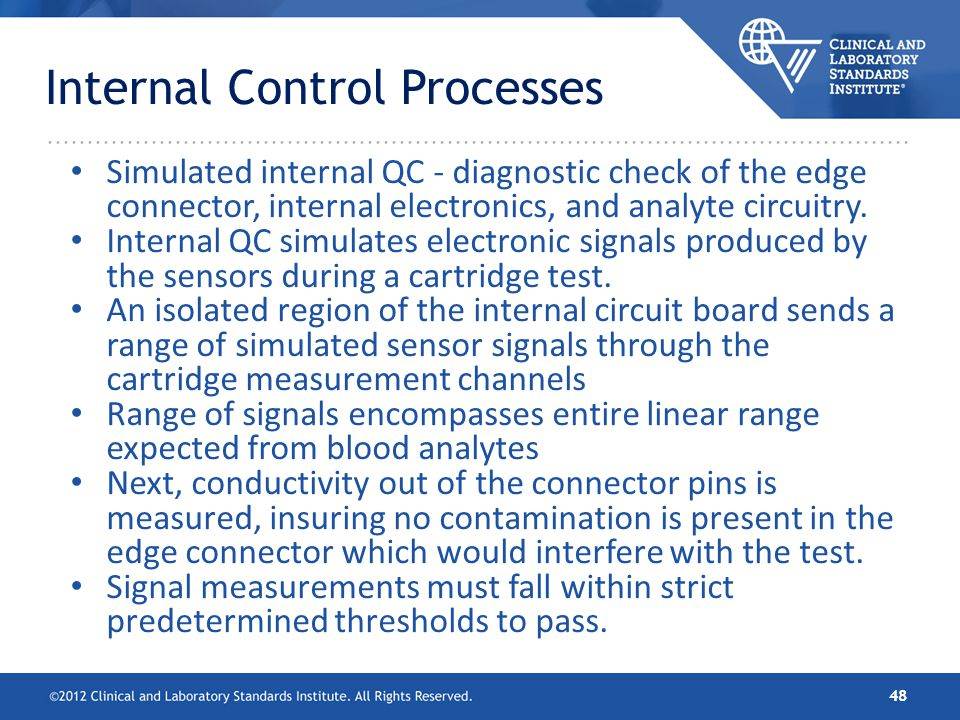 Internal Control Processes