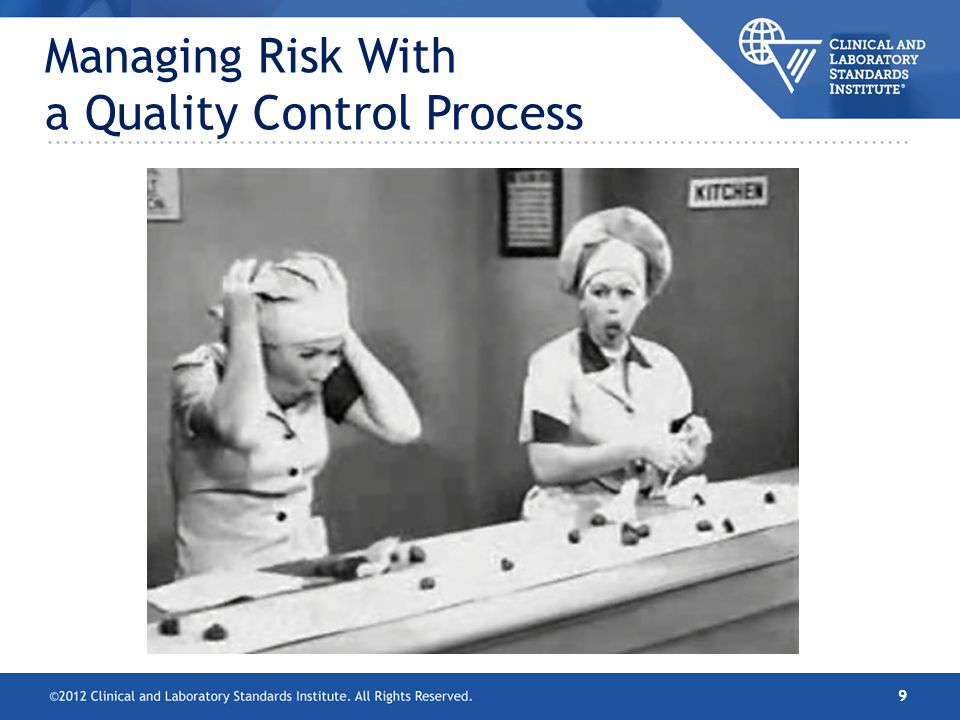Managing Risk With a Quality Control Process