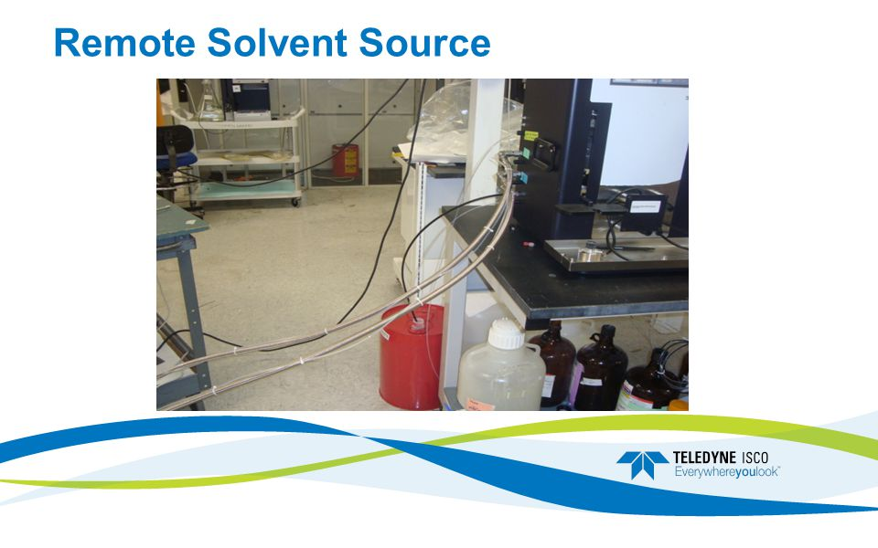 Remote Solvent Source