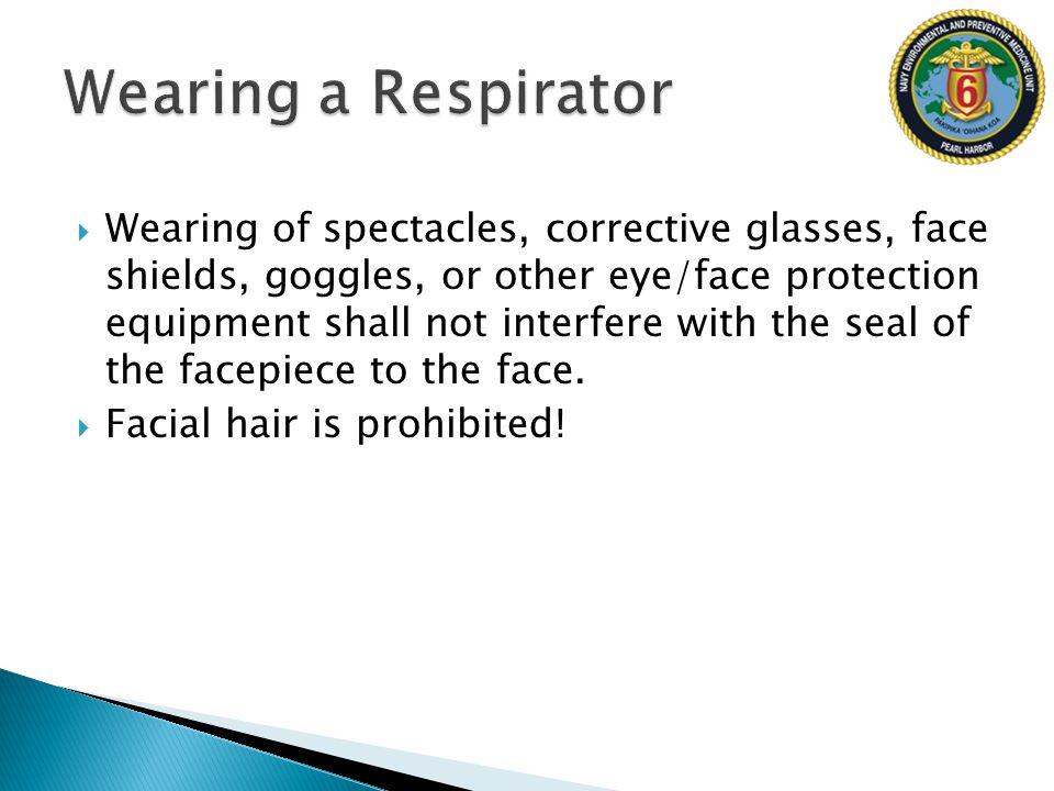 Wearing a Respirator