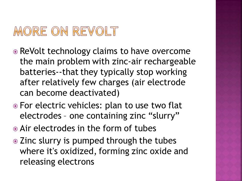 More on revolt