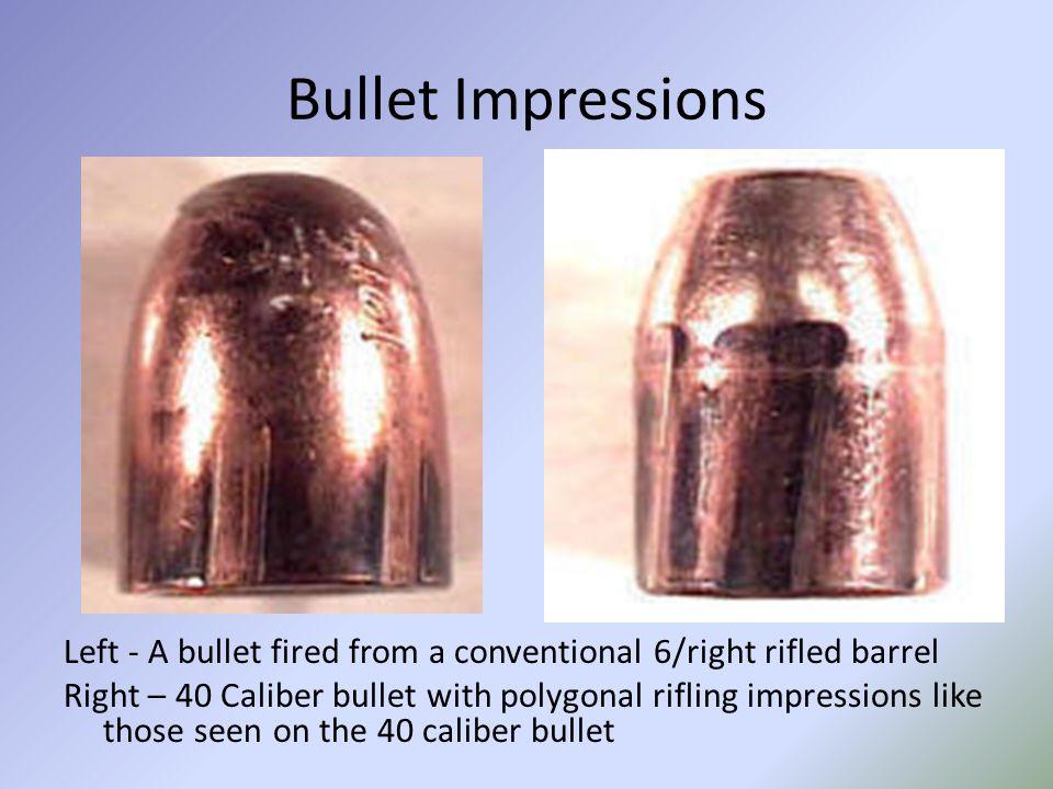 Bullet Impressions