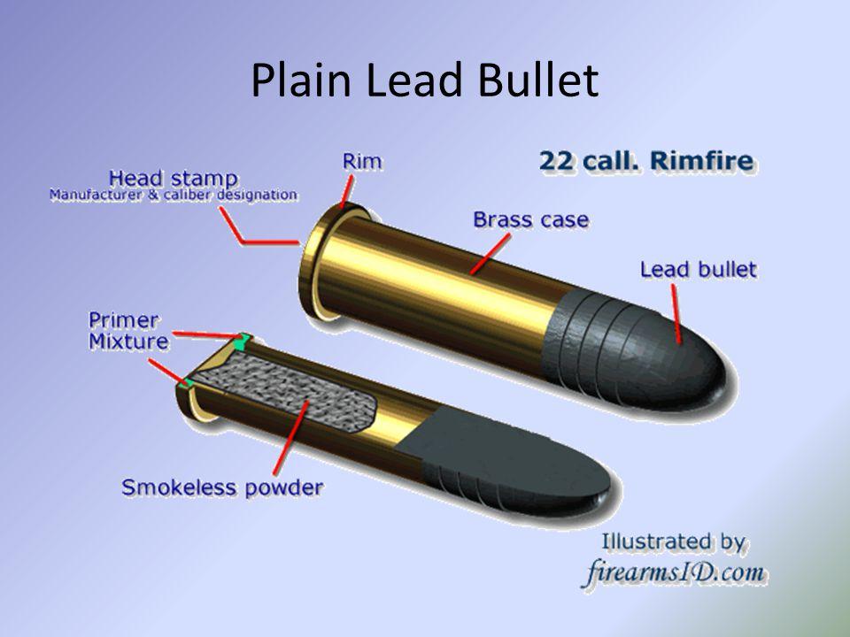 Plain Lead Bullet