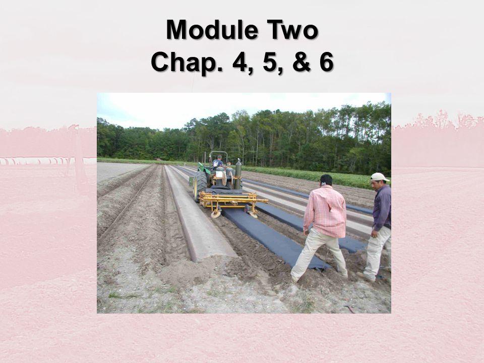 Module Two Chap. 4, 5, & 6