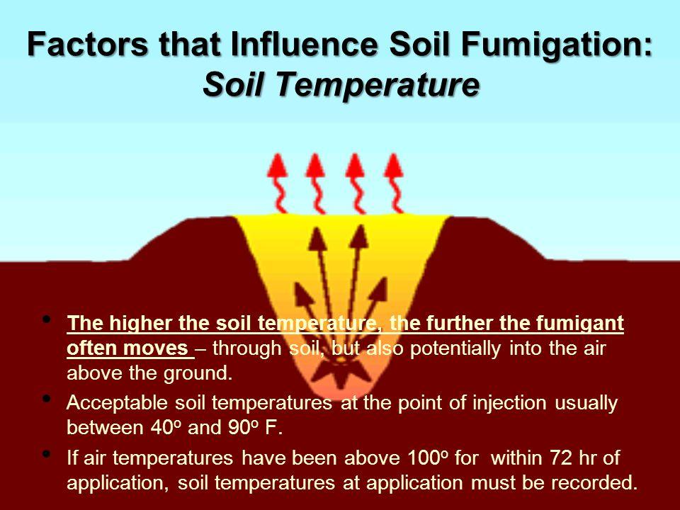 Factors that Influence Soil Fumigation: Soil Temperature