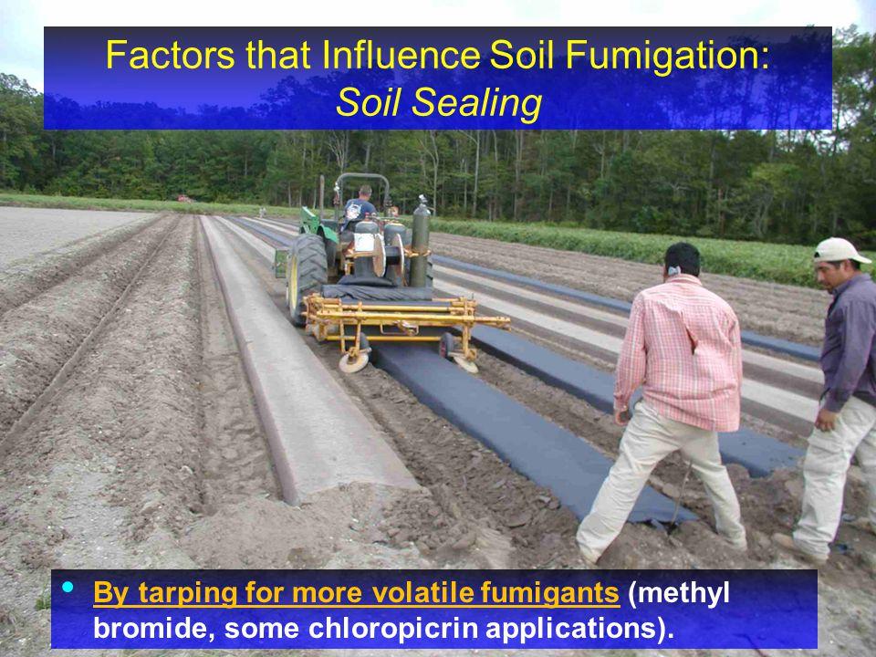 Factors that Influence Soil Fumigation: Soil Sealing