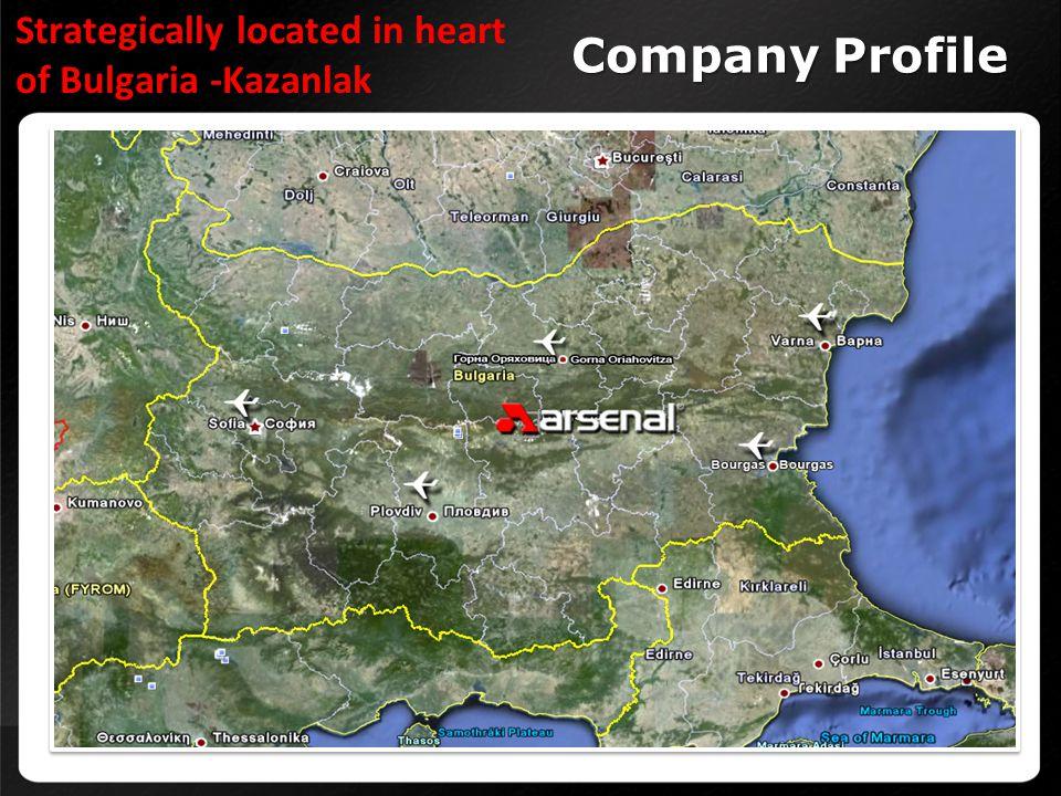 Strategically located in heart of Bulgaria -Kazanlak