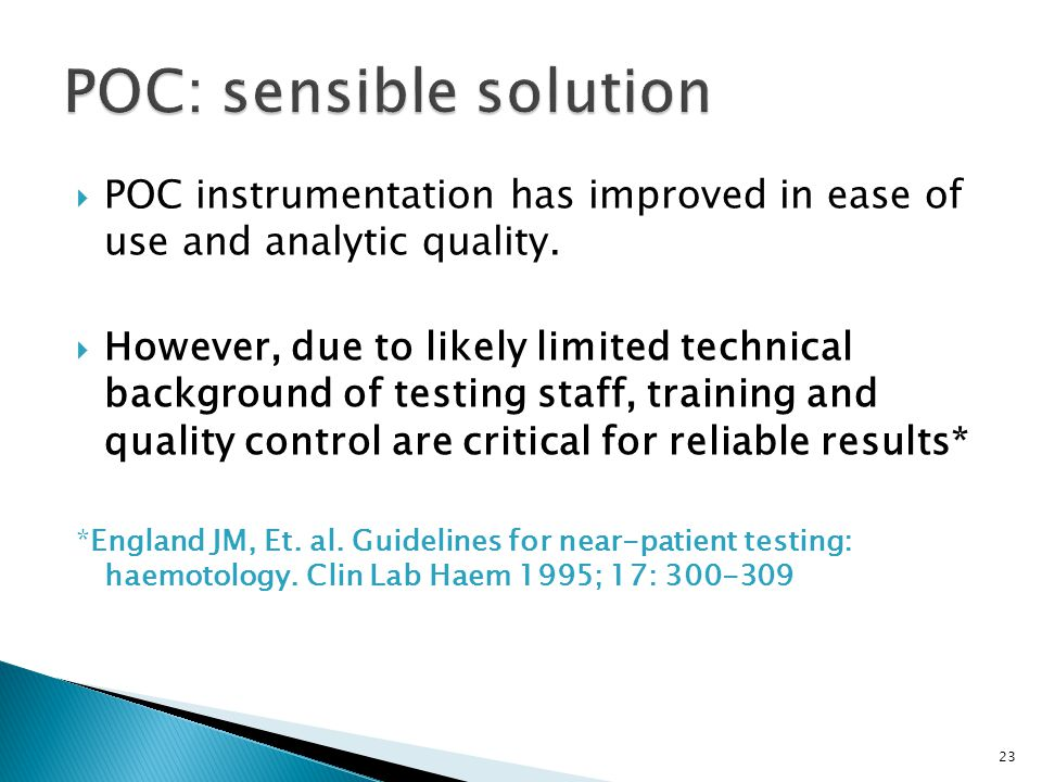 POC: sensible solution
