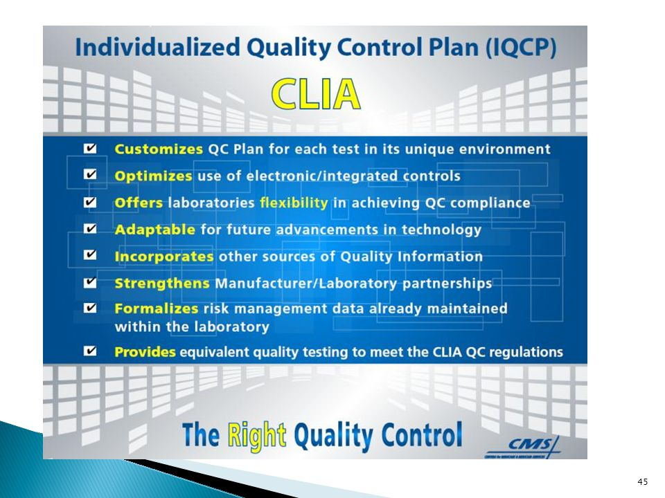 Are customized for each test in its environment