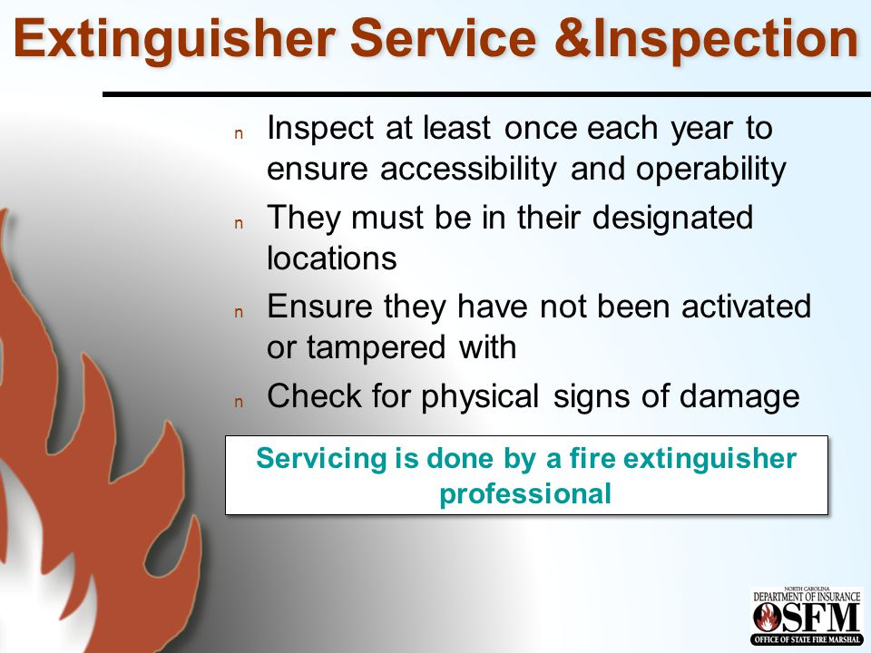 Extinguisher Service &Inspection