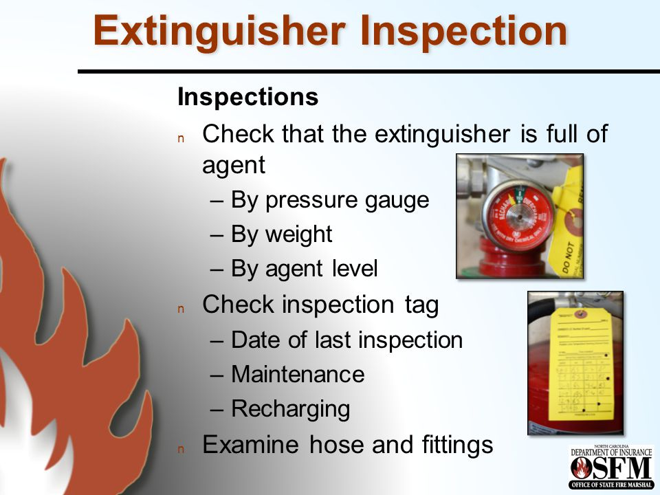 Extinguisher Inspection