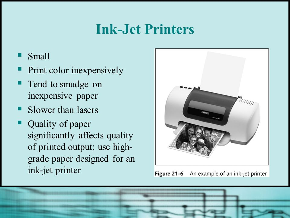 Ink-Jet Printers Small Print color inexpensively