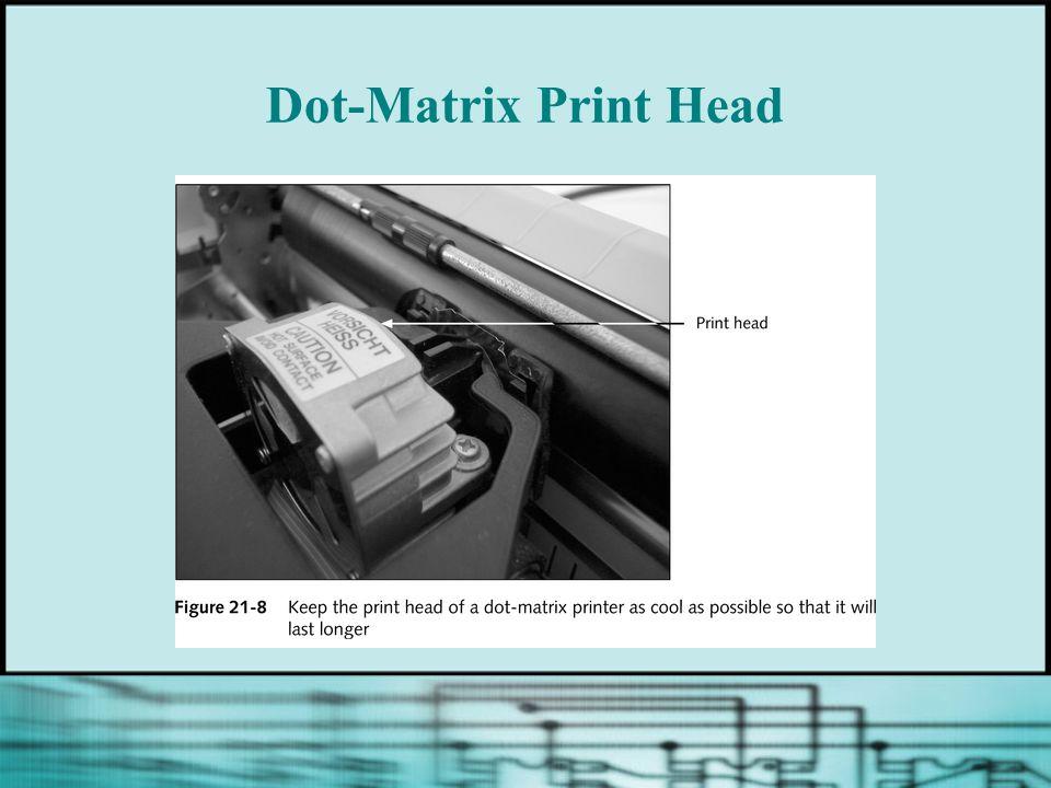 Dot-Matrix Print Head