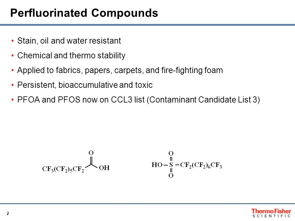 Perfluorinated Compounds