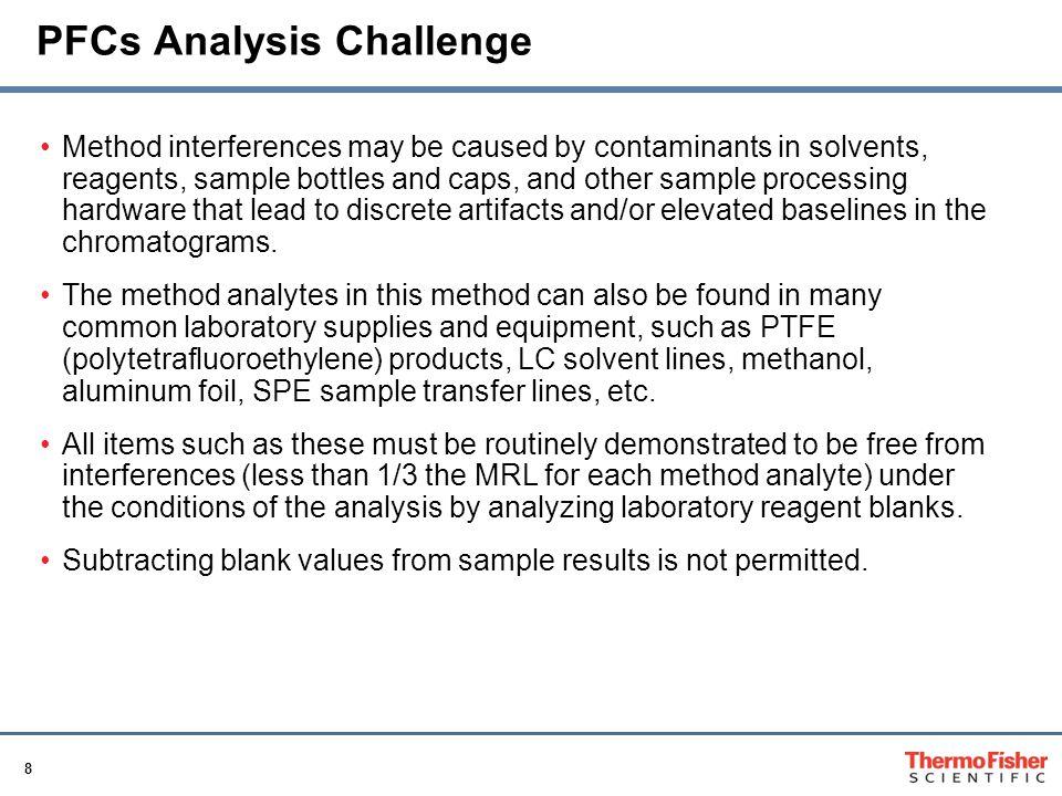 PFCs Analysis Challenge