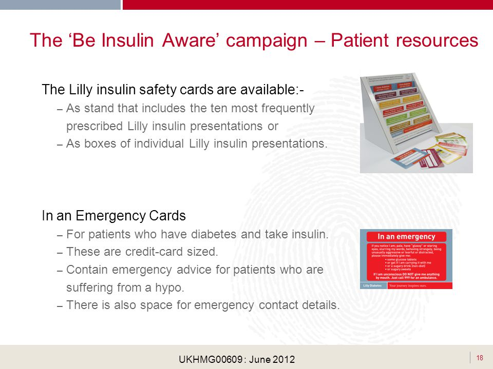 The 'Be Insulin Aware' campaign – Patient resources