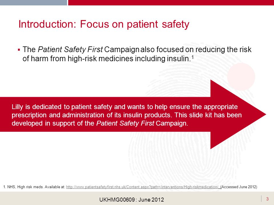 Introduction: Focus on patient safety