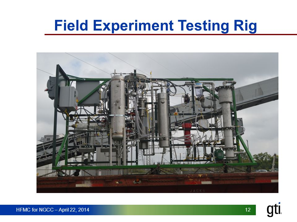 Field Experiment Testing Rig